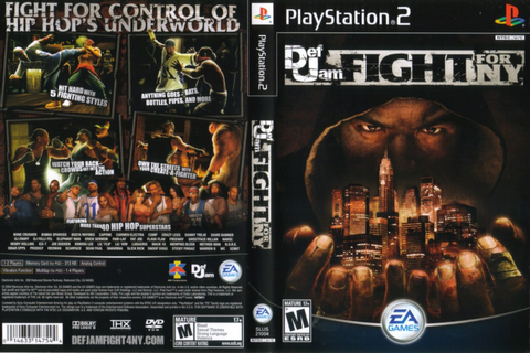 End PS2 Games Melhor Blog de PS2: Def Jam: Fight for NY | PS2