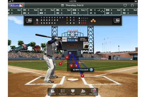 MLB At Bat iPad App Updated for 2013 | iPad Insight