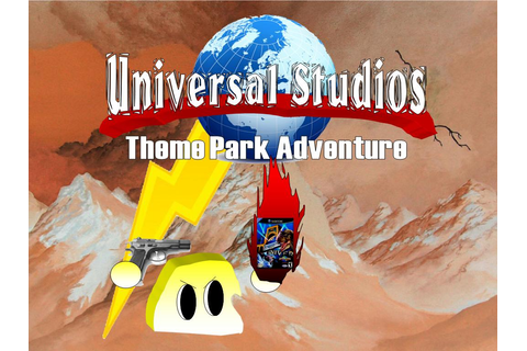 AWFUL Game: Universal Studios Theme Park Adventure ~ Food ...