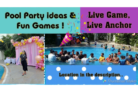 Pool party games & ideas/ Pool party games for team ...