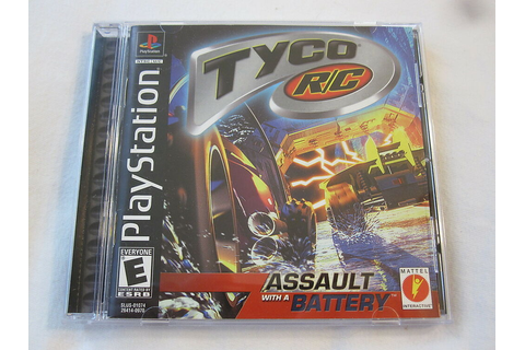 Tyco R/C: Assault with a Battery (PlayStation PS1) Black ...