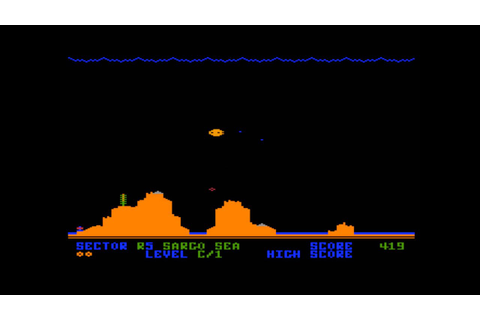 Attack at EP-CYG-4 for the Atari 8-bit family - YouTube