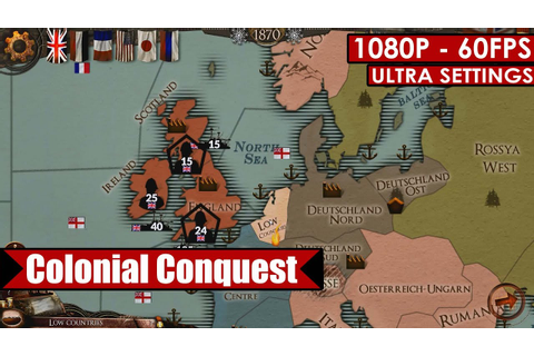 Colonial Conquest gameplay PC HD [1080p/60fps] - YouTube