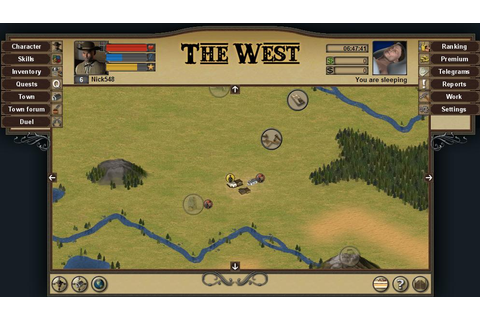 The West - Free Multiplayer Online Games