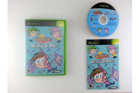 Fairly Odd Parents: Breakin' Da Rules game for Xbox ...