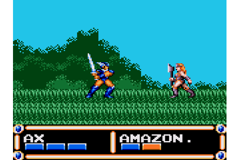 Ax Battler A Legend Of Golden Axe Download Game | GameFabrique