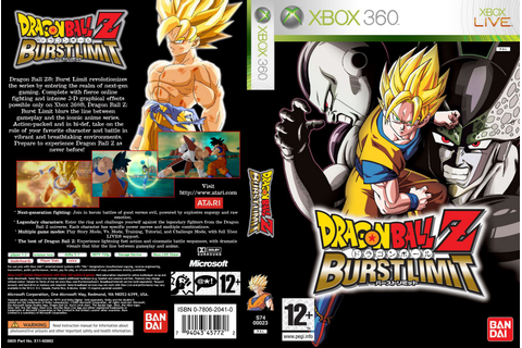 Games Covers: Dragon Ball Z - Burst Limit - Xbox 360