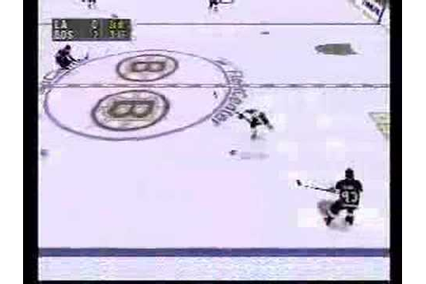 NHL Face Off 98 Playstation - Gameplay footage part 2 of 2 ...