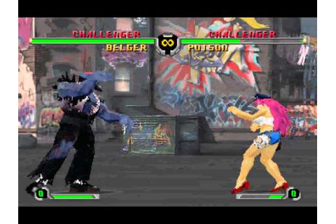 Final Fight Revenge [Saturn] - play as Belger - YouTube