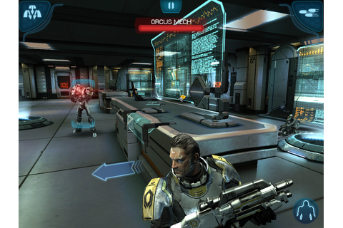Mass Effect Infiltrator, Datapad land in App Store this ...