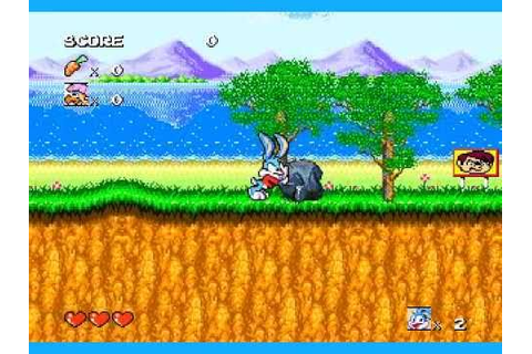Tiny Toon Adventures game - YouTube