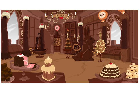 ANDYMATION: Chocolate Castle
