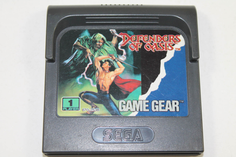 Defenders of Oasis - Sega Game Gear