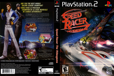 JC VIDEO PS2: SPEED RACER THE VIDEO GAME
