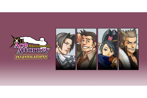 Ace Attorney Investigations: Miles Edgeworth | Nintendo DS ...