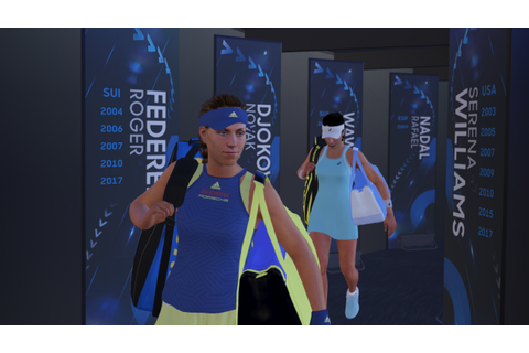 Time For Tennis: AO International Tennis vs Tennis World ...