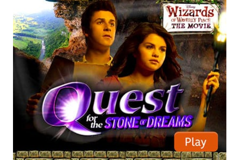 Wizards of Waverly Place Games - Quest for the Stone of ...
