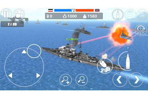 Battleship Bismarck Vs HMS Hood - YouTube