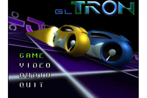 GLtron (1998) by GLtron.org Linux game