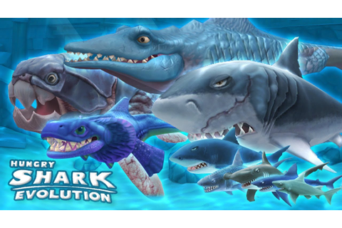 Hungry Shark Evolution - Mobiele Game - YouTube