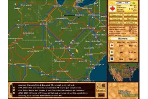 Game Classification : Rails Across America (2001)