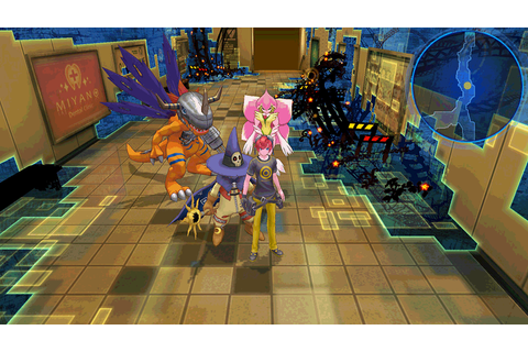 DIGIMON STORY CYBER SLEUTH on PS Vita | Official ...