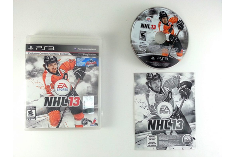 NHL 13 game for Playstation 3 (Complete) | The Game Guy
