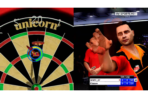 PS3 pdc world championship darts pro tour gameplay part 1 ...