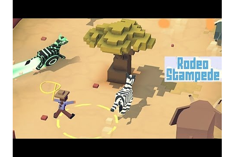 Rodeo Stampede Sky Zoo Safari - Android Gameplay HD - YouTube