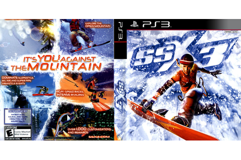 GAMES & GAMERS: SSX 3 PS3/PS2 DOWNLOAD