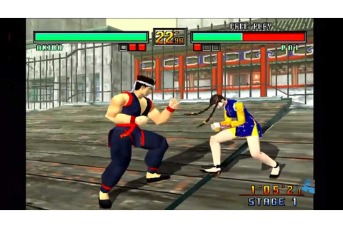 Virtua Fighter 3 TB (Gameplay) - YouTube