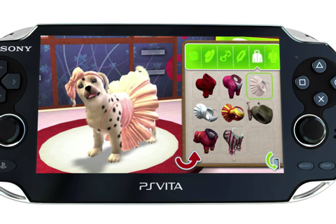 PlayStation Vita Pets - YouTube