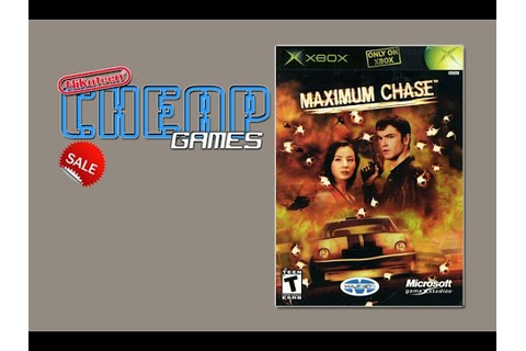 Cheap Games - Maximum Chase (XBOX) - YouTube