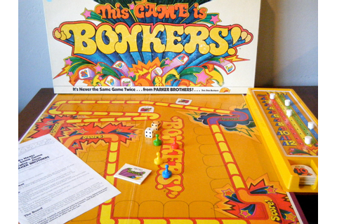 Bonkers Game Vintage 1970's Board Game Retro by ...
