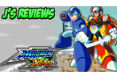 Mega Man Xtreme Review - YouTube