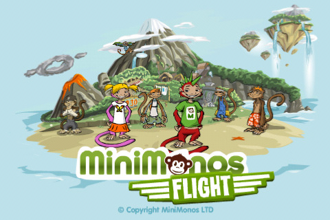 MiniMonos Flight iPhone game app review | AppSafari