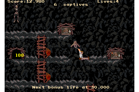 Indiana Jones and the Temple of Doom (1985) by Atari ...