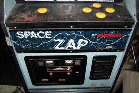 Space Zap Video Arcade Game of 1980 by Midway at www ...