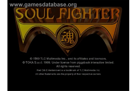 Soul Fighter - Sega Dreamcast - Games Database