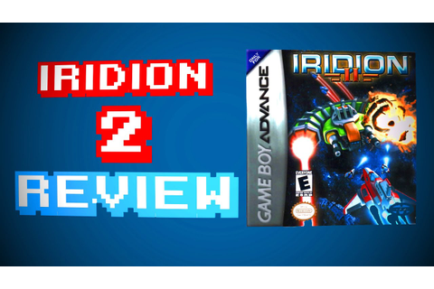 Iridion 2 Review - Gameboy Advance - YouTube