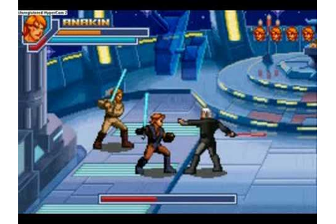 Star Wars Episode 3 The Game Obi-Wan And Anakin Vs Dooku ...