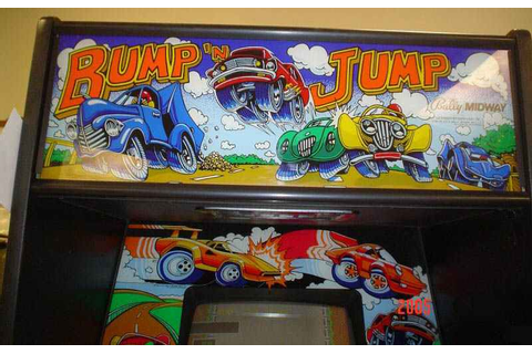 Bump 'N Jump Arcade Game of 1982 by Midway at www ...