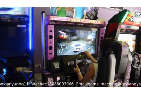 Initial D Arcade Stage 7 AA racing game machine arcade ...