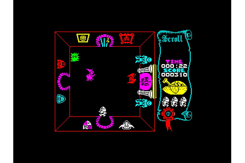 My all time favourite video games: Atic Atac - Sinclair ...