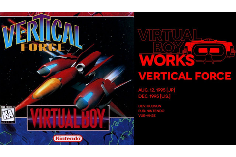 Vertical Force retrospective: Red squadron | Virtual Boy ...