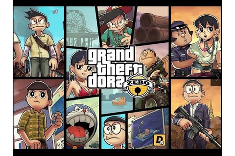 Grand Theft Doraemon - GTA 5 in Doraemon Theme - YouTube