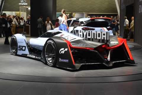 The first debut of Hyundai N2025 Vision GranTurismo in ...