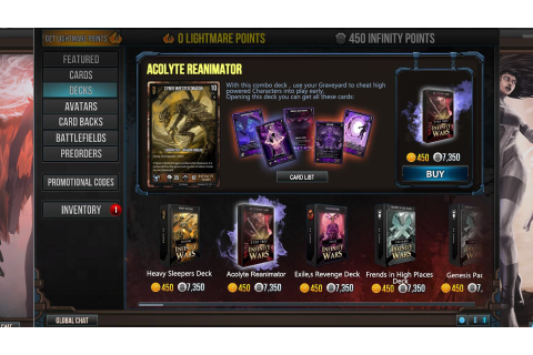 Download Infinity Wars: Animated Trading Card Game Full PC ...