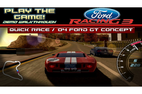 Play the GAME! | Ford Racing 3 Demo [PC] | #2 | 2004 Ford ...