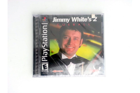 Jimmy White's 2 Cueball game for Playstation (New) | The ...